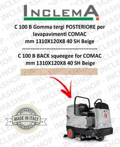 C 100 B Gomma tergi POSTERIORE per lavapavimenti COMAC