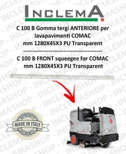 C 100 B Gomma tergi ANTERIORE per lavapavimenti COMAC