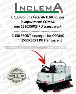 C 130 Gomma tergi ANTERIORE per lavapavimenti COMAC