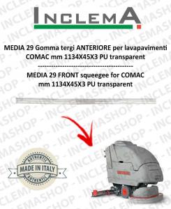 MEDIA 29 Gomma tergi ANTERIORE per lavapavimenti COMAC