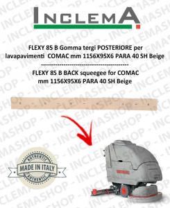 FLEXY 85 B Gomma tergi POSTERIORE per lavapavimenti COMAC-2
