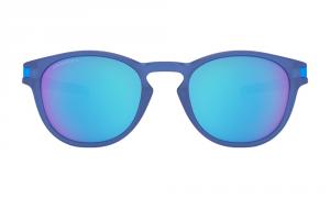 Oakley - Occhiale da Sole Uomo, Latch Spectrum Collection, X-Ray Blue/Prizm Sapphire  OO9265 926524 C53