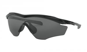 Oakley - Occhiale da Sole Uomo, M2™ Frame XL, Polished Black/Grey  OO9343 934301  C145