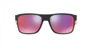 Oakley - Occhiale da Sole Uomo, Crossrange™, Black-Red Ink/Prizm Road  OO9361 936105  C57