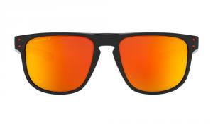 Oakley - Occhiale da Sole Uomo, Holbrook™ R, Polished Black/Prizm Ruby Polarized  OO9377 937707  C55
