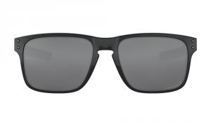 Oakley - Occhiale da Sole Uomo, Holbrook™ Mix, Polished Black/Prizm Black Polarized  OO9384 938406   C55