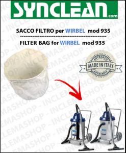 935 SACCO FILTRO per aspirapolvere WIRBEL