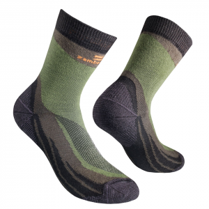 ZAMBERLAN® FOREST CoolMax® HIKING SOCKS   -   Low Cut   -   Green