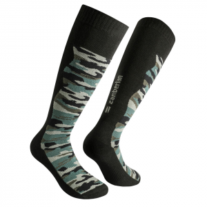 ZAMBERLAN® ALL PURPOSE HIKING SOCKS   -   Jungle Camo   -   High Cut