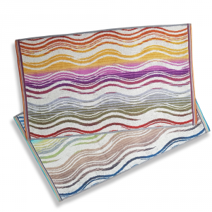Missoni Home set 2 asciugamani ospite 40x70 cm PEGGY Multicolore