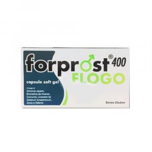 FORPROST FLOGO - INTGRATORE A BASE DI SERENOA, BROMELINA E CURCUMA