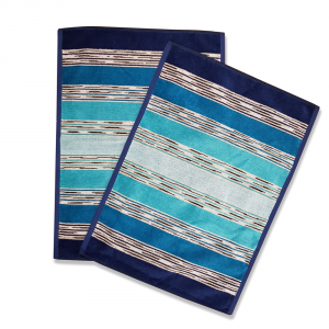 Missoni Home set 2 asciugamani 40x60 cm NORMAN Turchese