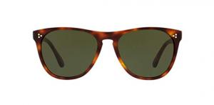Oliver People's - Occhiale da Sole Uomo, Daddy B., Dark Mahogany/Vibrant Green OV5091SM 1007/71 C58