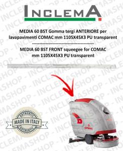 MEDIA 60 BST Gomma tergi ANTERIORE per lavapavimenti COMAC