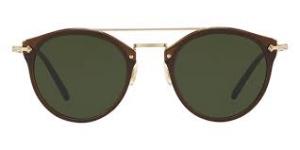 Oliver People's - Occhiale da Sole Unisex, Remick, Espresso Gold/Vibrant Green OV5349S 1625/71 C50