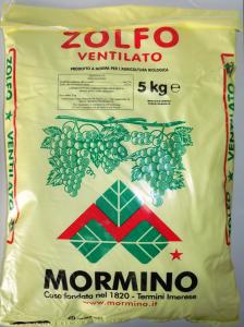 Zolfo Ventilato Kg.5 concime