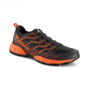 NEUTRON 2   -   Comfortable fit and great cushioning   -   Black-Fluo Orange