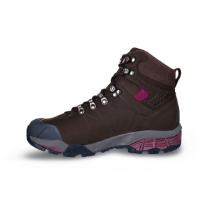 ZG PRO GTX WMN   -   For moving fast on alpine hikes, waterproof   -   Dark Coffee-Red Plum
