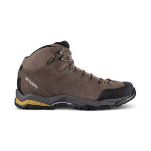 MORAINE PLUS MID GTX   -   Protective for hiking on mixed terrains, waterproof   -   Charcoal-Sulphur Green