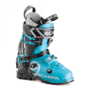 GEA   -   Ideal for all women preferring to ski and seek precision and durability   -   Scuba Blue-Anthracite