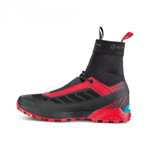 RIBELLE S OD   -   Extremely lightweight for fast mountaineering   -   Black-Red