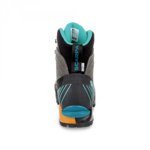 RIBELLE OD WMN   -   Lightweight for fast and light mountaineering, via ferratas   -   Titanium-Aqua