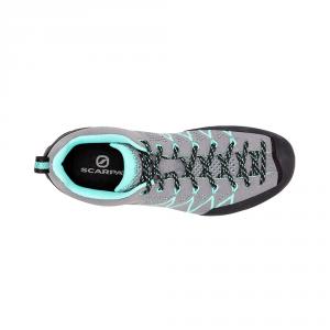 CRUX AIR WMN   -   Avvicinamento tecnico, scarpa leggera   -   Smoke-Ice Green