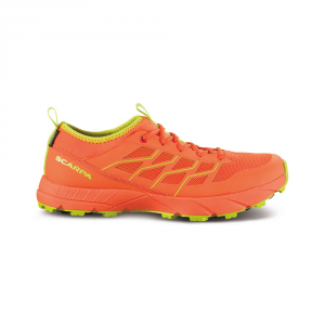 ATOM SL GTX   -   Trail running allenamento su bagnato   -   Bright red-Spring Green