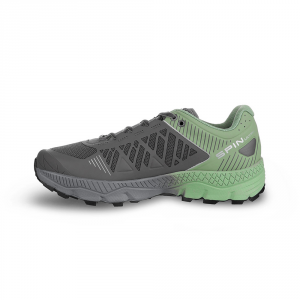 SPIN ULTRA WMN    -   Trail running model for top runners   -   Shark-Mineral Green