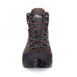 KAILASH PLUS GTX    -   On trails with full backpacks, waterproof   -   Dark Coffee ( Nubuck )