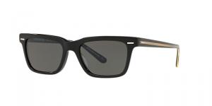 Oliver People's - Occhiale da Sole Uomo, BA CC, Black/Carbon Grey OV5388SU 1005/R5 C52