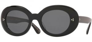 Oliver People's - Occhiale da Sole Donna, Erissa, Black Teal Vsb/Grey Polarized OV5395SU 1005/81 E  C52