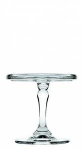 Alzata in vetro mini pasticceria  per dolci e frutta cm.9,5h diam.10