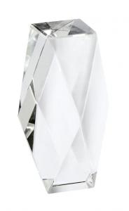 Cristallo fermacarte cm.5x5x14,5h