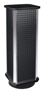 Espositore portachiavi girevole nero cm.24x24x67h