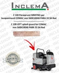 C 100 Paraspruzzi SINISTRO per lavapavimenti COMAC
