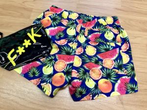 Boxer Lungo Stampato Frutta Effek Taglie S e XL