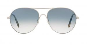 Oliver People's - Occhiale da Sole Unisex, Rockmore, Silver/Chrome Sapphire Photochromic OV1218S 50363F  C58