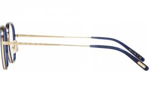 Oliver People's - Occhiale da Vista Unisex, OP-40 30TH, Denim/Brushed Gold OV1234 5236  C46