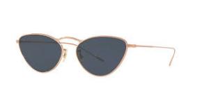 Oliver People's - Occhiale da Sole Donna, Lelaina, Soft Rose Gold/Blue Shaded OV1239S 5037/R5  C56