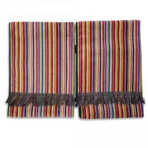 Missoni Home 2 asciugamani 60x110 cm LUCA Multicolore ROSSO