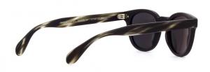 Oliver People's - Occhiale da Sole Unisex, Sheldrake Sun, Semi-Matte Black Ebonywood/Midnight Express Polarized OV5036S 1570/P2  C47