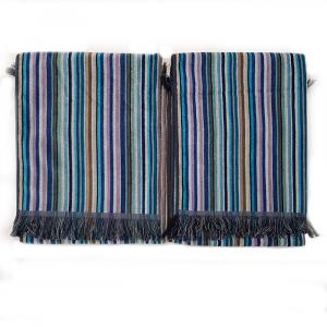 Missoni Home 2 asciugamani 60x110 cm LUCA Multicolore Blu