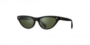 Oliver People's - Occhiale da Sole Donna, Zasia, Black/Green G-15  OV5379SU 1005/52 B C53