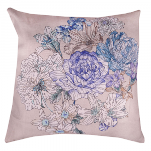 Cuscino arredo - Fodera x Cuscini decorativi ZUCCHI Floralia beige