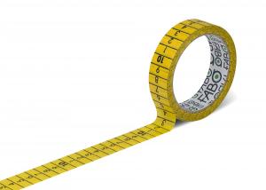 Fabo Metro nastro adesivo rimovibile con dorso centimetrato