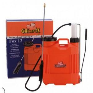 Pompa a zaino in plastica con pompante in plastica Volpi lt.12 e lt.16