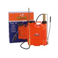 Pompa a zaino in plastica con pompante in ottone lt.12 e lt.16