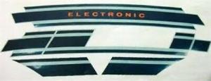 142721100 KIT ADESIVI LATERALI ELECTRONIC VESPA 125 ET3 PIAGGIO