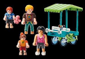 PLAYMOBIL FAMIGLIA IN BICICLETTA 70093